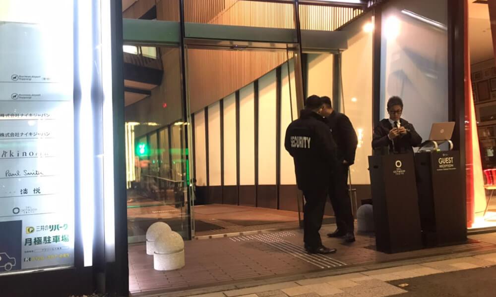 【ポールスミスのお店の手前に入り口がある】【六本木 クラブ】 SEL OCTAGON TOKYO セルオクタゴン 東京